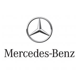 Logo of Mercedes-Benz, a sponsor of West Alabama Food Bank