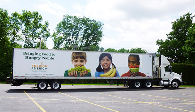 West Alabama Food Bank mobile food pantry truck