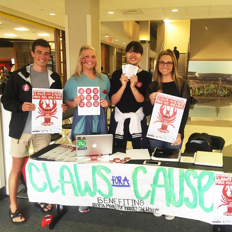 """Claws for a Cause"" Secret Meals for Hungry Children"