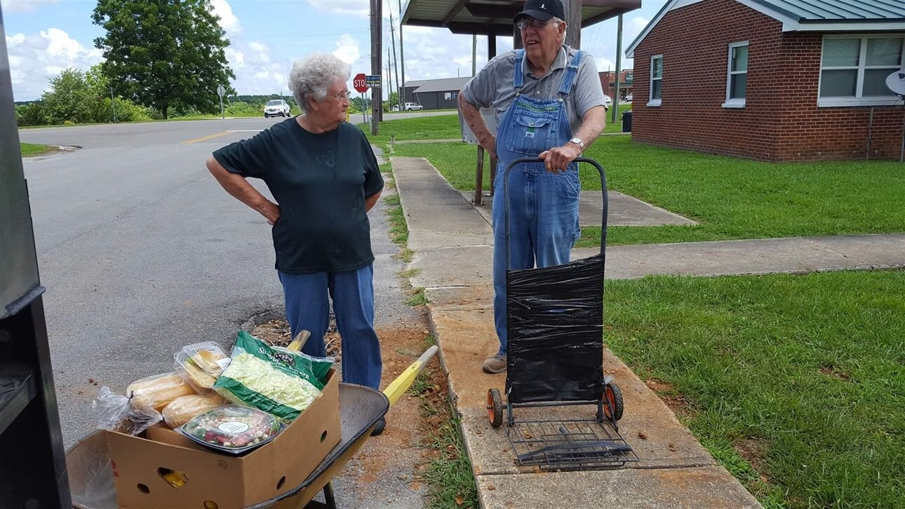 Mobile Food Banks Roll to Isolated, Rural Poor